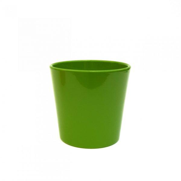 Ghiveci Dida Ceramica - verde - 12.5 cm - Verde - Florăria Tria's