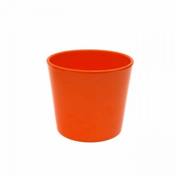 Ghiveci Dida Ceramica - portocaliu - 15 cm - Florăria Tria's