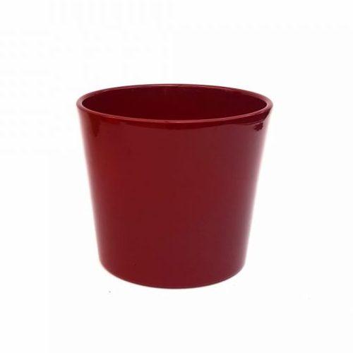 Ghiveci Dida Ceramica - grena - 15 cm - Florăria Tria's
