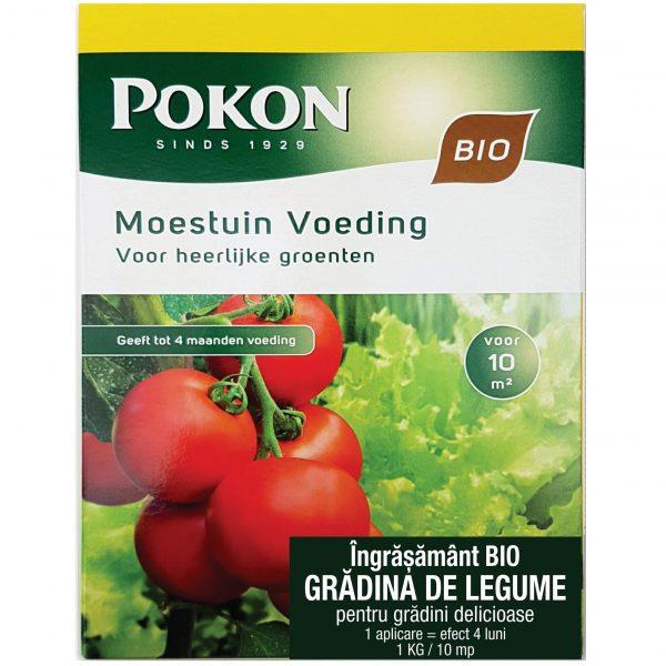 Ingrasamant bio pentru gradina de legume Pokon