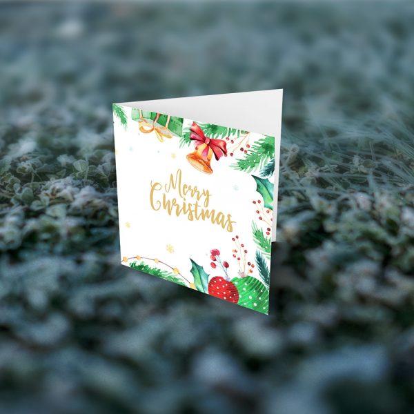 Felicitari Cadou cu mesaj - Merry Christmas clopotel