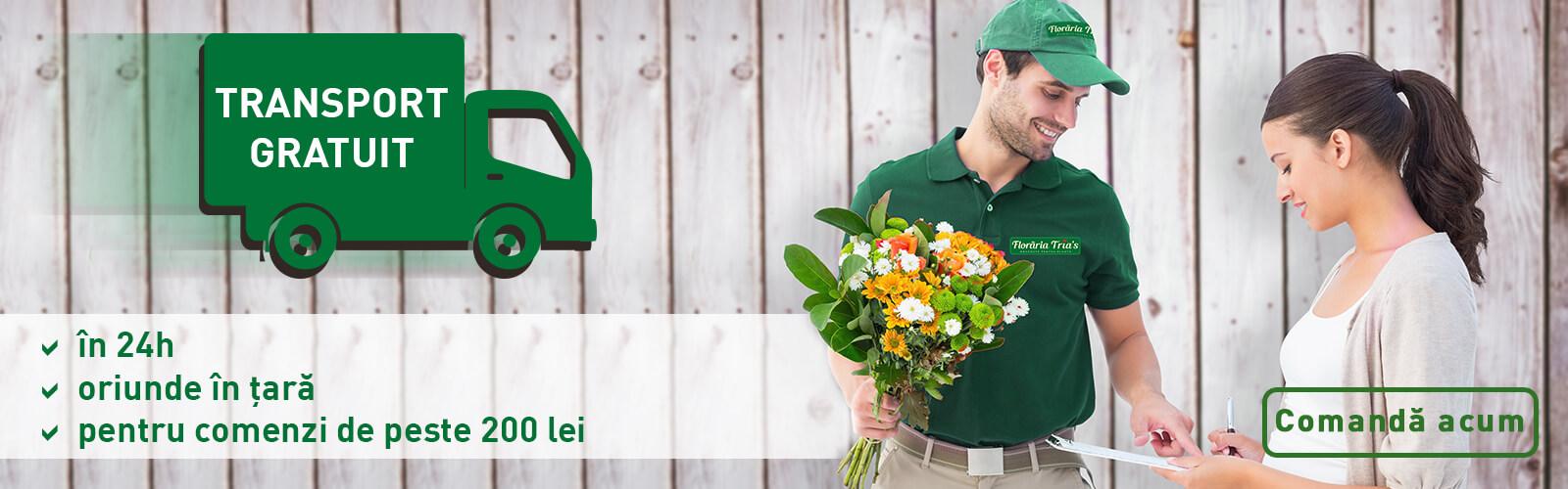 transport gratuit flori