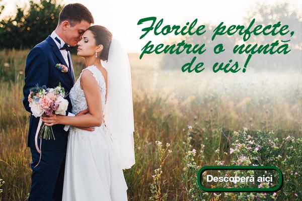 banner mobile florile perfecte pentru o nunta de vis