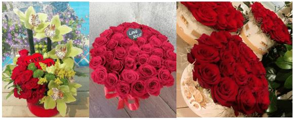 4 cadou trandafiri