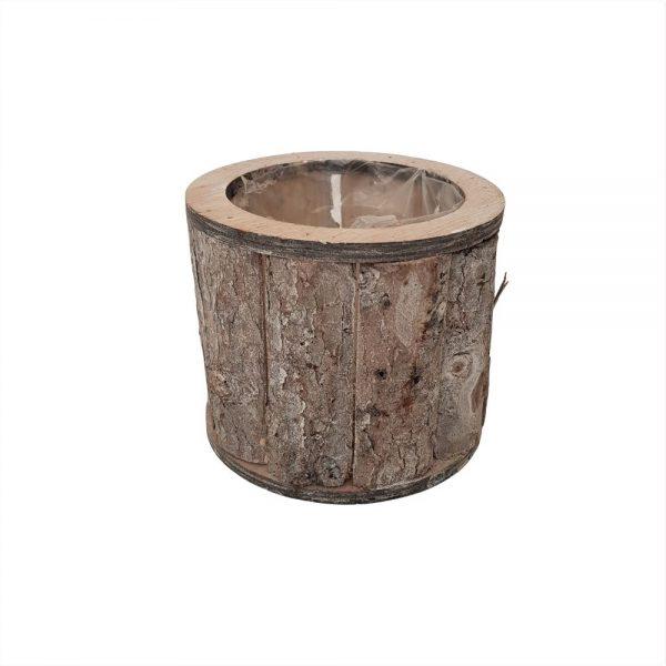 Suport rotund din bucati de lemn