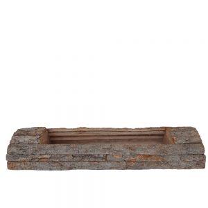 Platou dreptunghiular din bucati de lemn nr2