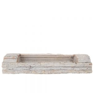 Platou dreptunghiular din bucati de lemn nr1