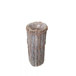 Coloana vintage din bucati de lemn 50cm