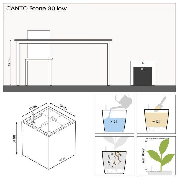 CANTO Stone 30 low graphite black (1)