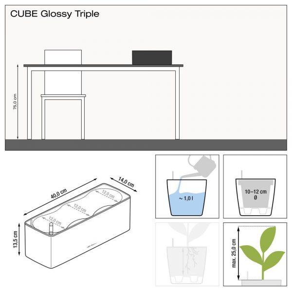 CUBE Glossy Triple charcoal high-gloss (1)